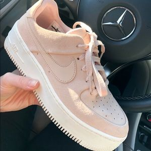 Nike Shoes - Nike Air Force 1 Sage Low in Beige